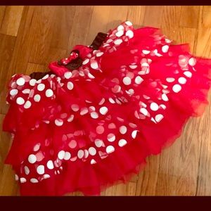 Adult Disney Minnie mouse skirt